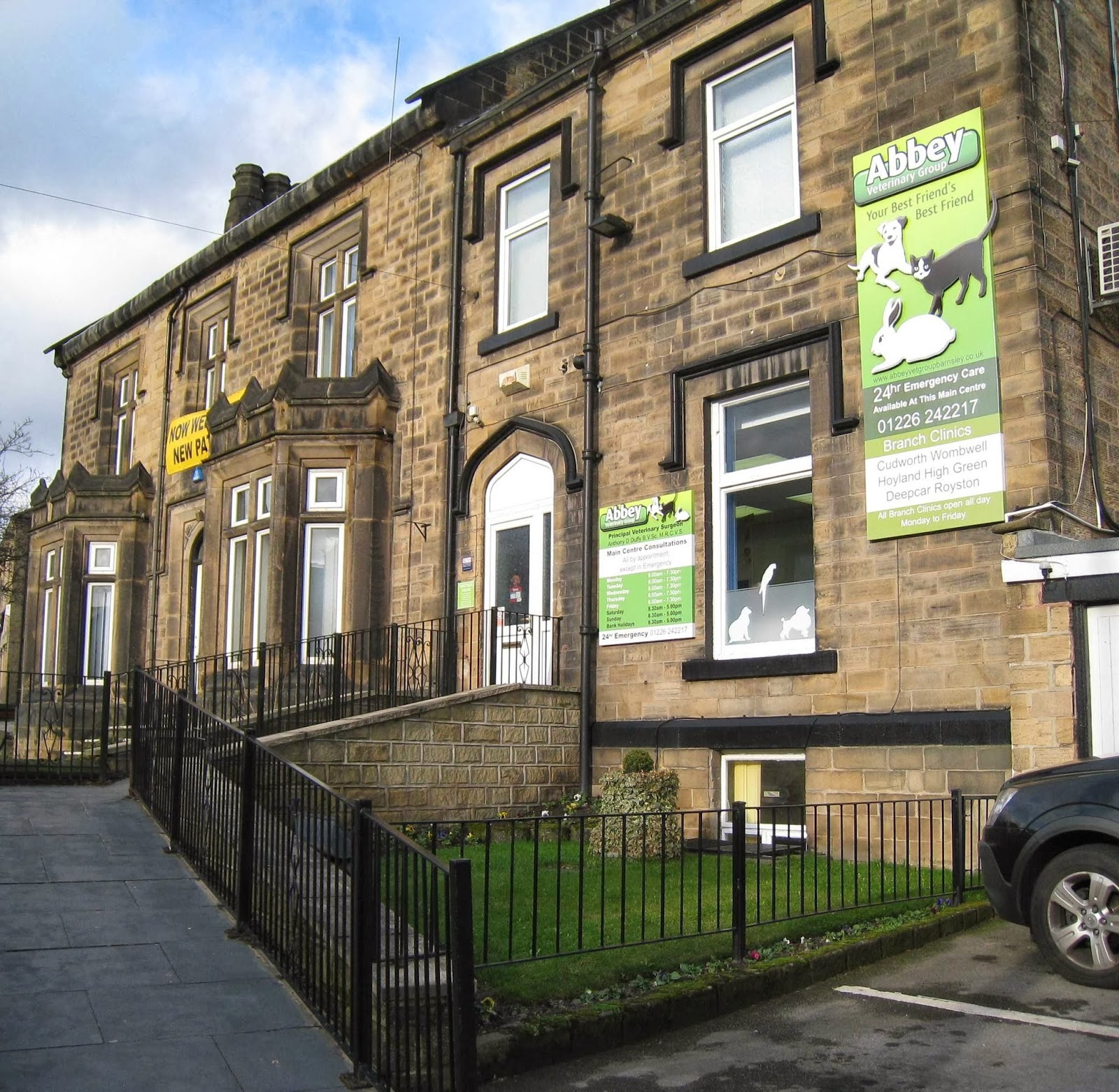 abbey veterinary group, 89 dodworth road, barnsley, reviews and