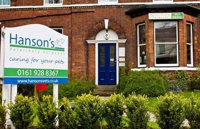 Hanson S Veterinary Surgery 40 Barrington Road Altrincham Reviews