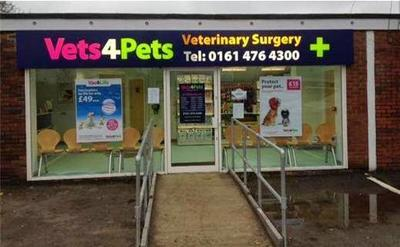Vets4pets Cheadle 168 Stockport Road Stockport Reviews And Appointments Topvet